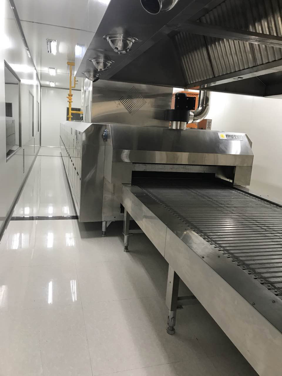 baking tunnel oven