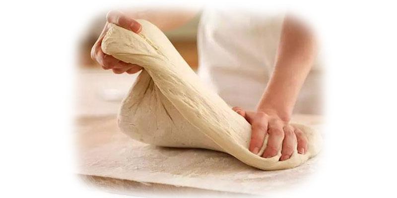 Flipping dough