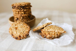 The practice of savory oatmeal cookies